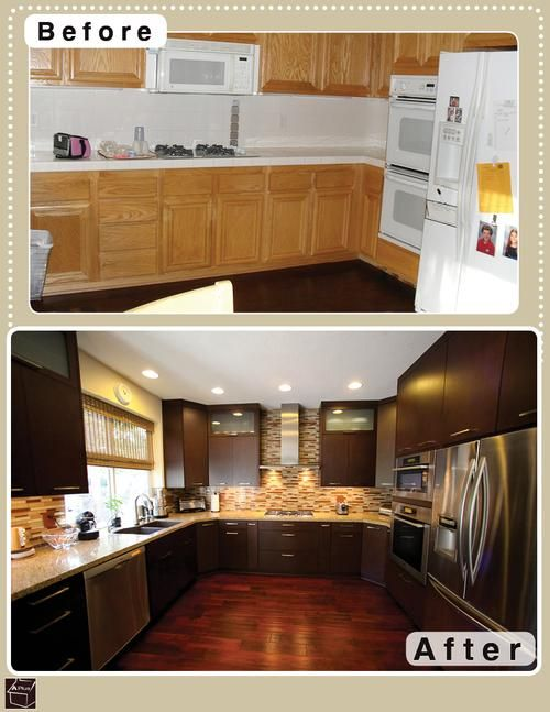 "Kitchen Cabinet Refacing: The Cost-Effective ""Overnight"