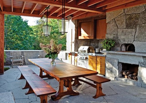 Covered Kitchen Patio